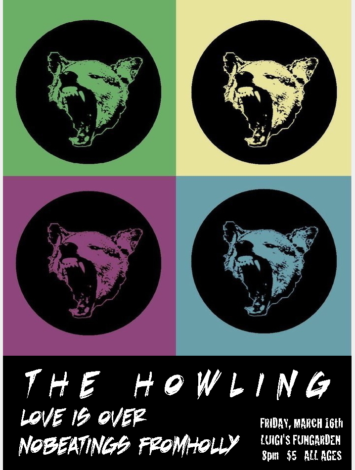 LIO Flyer - The Howling
